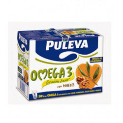 Leche Puleva Omega 3 Nueces (Pack6 x1L)