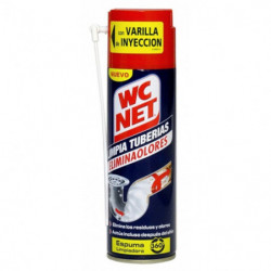 Limpia Tuberias Wc Net Espuma spray