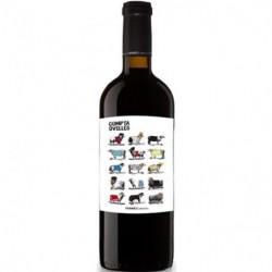 Vino Compta Ovejas Negro 75cl DO Penedés