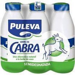 Leche de Cabra Semidesnatada Puleva Botella (Pack6 x 1L)