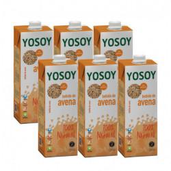 Bebida Yosoy de Avena Sin Gluten 1L Pack 6 Briks