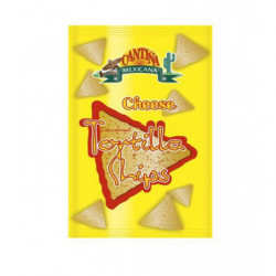 Tortillas Chips Queso Cantiña Mexicana Nacho Amarillo