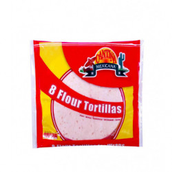 Tortillas Cantiña Mexicana Trigo 8ud