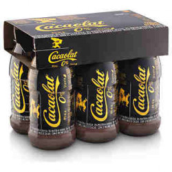 Cacaolat Batido de Chocolate 0% Botellas 200ml (Pack6 x 200ml)