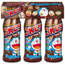 Batido de Cacao Okey Botellas (Pack3 x 188ml)