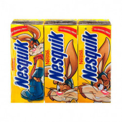 Nesquik Batido de Chocolate Minibriks (Pack3 x 200ml)