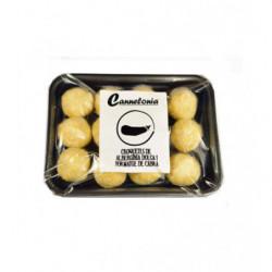 Croquetas gastronómicas de berenjena dulce con queso de cabra