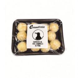 Croquetas gastronómicas de foie con gominolas de manzana 12uds