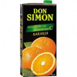 Zumo Don Simón Naranja Brik 1L
