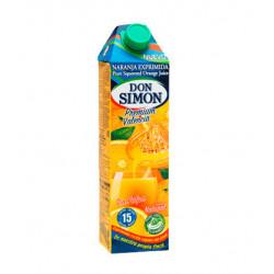 Zumo Don Simón Naranja Exprimida con Pulpa 1L