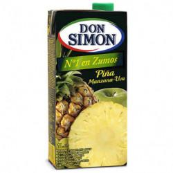 Zumo Don Simon Piña, uva y manzana Brik 1L