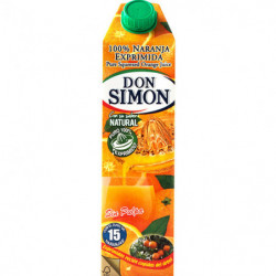 Zumo Don Simon Naranja Exprimida sin Pulpa 1L