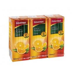Zumo Gourmet Naranja Bricks (Pack3 x 200ml)