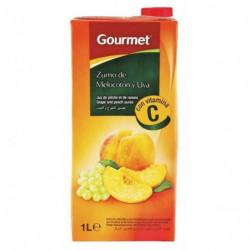 Zumo Gourmet Melocotón, Manzana y Uva 1L