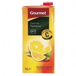 Zumo Gourmet Naranja Brick 1L