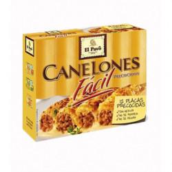 Pasta El Pavo Canelones Facil Placas Precocidas 12 Ud