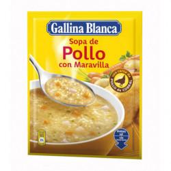 Sopa Gallina Blanca Pollo Con Maravilla