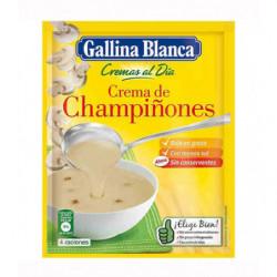 Crema Gallina Blanca Champiñones