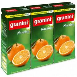 Néctar Granini Naranja Bricks (Pack 3x200ml)