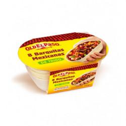 Barquillas Mexicanas de Trigo Old al Paso 8ud