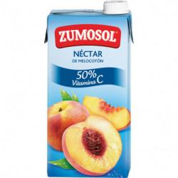 Néctar Zumosol Melocotón Brick 1L