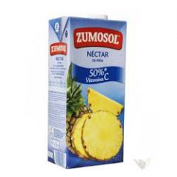 Zumo Zumosol Piña sin Azúcar Brick 2L