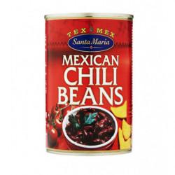 Frijoles Mexicanos con Salsa de Chile
