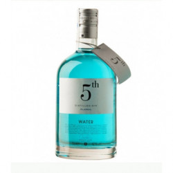 Ginebra Dry 5th Water 70cl 42º (Blava)