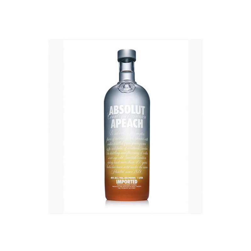 Vodka Absolut Peach 1l