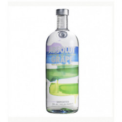 Vodka Absolut Grape 1l 40%