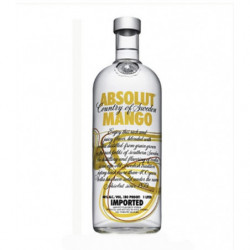Vodka Absolut Mango 40º 1l