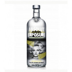 Vodka Absolut Exposure 1l 40º