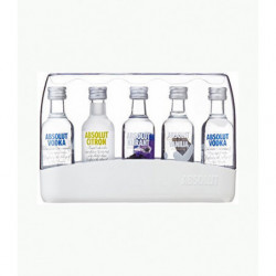 Vodka Absolut Sabors Pack 5 X 5cl Mini
