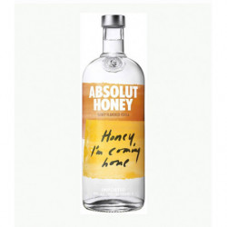 Vodka Absolut Honey 1l 40%