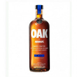 Vodka Absolut Oak 1l 40%