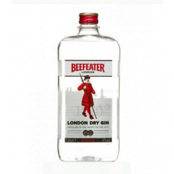 Ginebra Beefeater Pet 1l 47%
