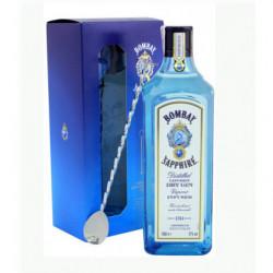 Gin Bombay Saphhire 1l 47%+ Cullera