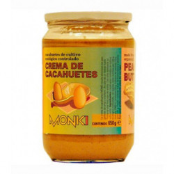Crema de Cacahuetes Ecológica Monki Bio
