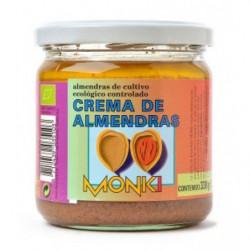 Crema de Almendras Ecológica Monki 330gr Bio