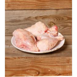 Pollo Pasto entero cortado Octavos, DISPONIBLE a partir del