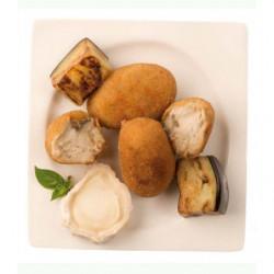 Croquetas Caseras Calabacín y Queso de Brie