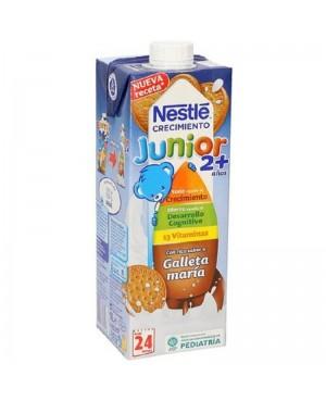 Leche Nestlé Junior 2A+ Vitaminas Brik 1 L.