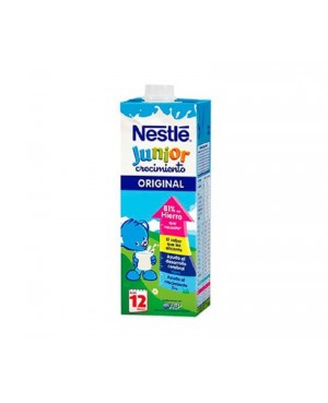 Leche Nestlé Junior Brik 1L. Crecimiento.