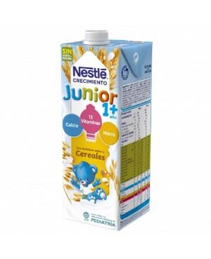 Leche Nestlé Junior 1 + Cereales Brik 1 L.