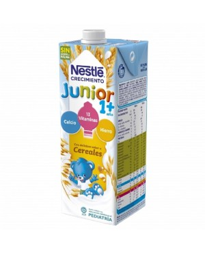 Llet Nestlé Junior 1 + Cereals 1 L.