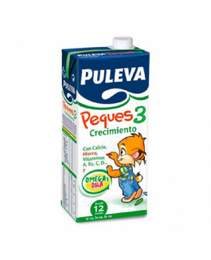 Leche Puleva Peques 3 Crecimiento 1 L.