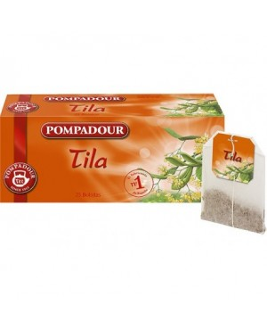 Tila Pompadour Sobres 10 Unidades.