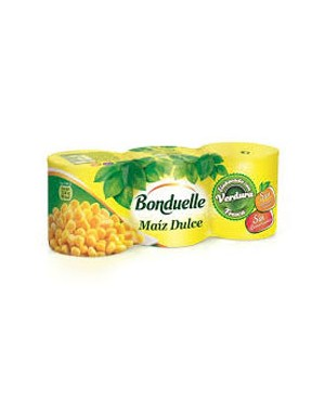 Maíz Bonduelle 150 grs. 3 pc