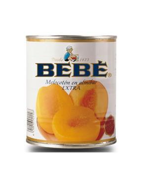 Melocoton Almíbar Bebe Lata 840 g