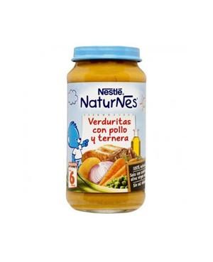 NestlePollo,Ternera y Verduras 250 gr